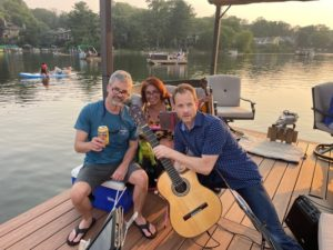 Summer Fun Rehearsal on the lake